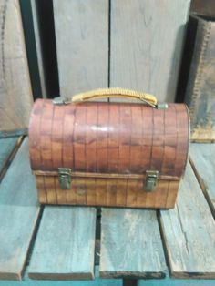 Vintage Lunch Box by UpTheAntiqueCo on Etsy