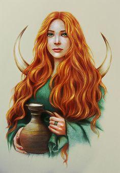 Image about books in Witchcraft - Pagan - Wicca - Celtic ⛄ by ❥ Bambi Celtic Goddess, Celtic Mythology, Goddess Art, Brighid Goddess, Magick, Witchcraft, Winter Goddess, St Brigid, Pagan Art