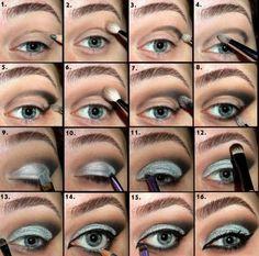 New Years Eve Glitter Eye Makeup Tutorials 15 New Years Eve Glitter Eye Makeup Tutorials
