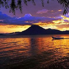 Glistening with personality, Lake Atitlan is a must for anyone heading to Guatemala. If you're backpacking Lake Atitlan check out our ultimate tips here. The Beautiful Country, Beautiful Places, Guatemala City, Best Sunset, Travel Agency, Central America, Vacation Spots, Beautiful Landscapes, The Great Outdoors