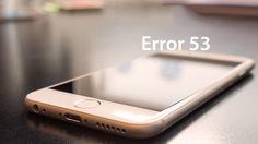 Eroarea 53 baga frica in Apple, se repara iPhone-urile blocate | iDevice.ro