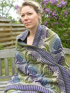 Scottish Thistle Blanket..