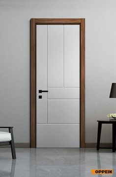 Fashion interior doors models home Flush Door Design, Room Door Design, Main Door Design, Wooden Door Design, House Design, White Wooden Doors, Modern Wooden Doors, Wooden Front Doors, Modern Door