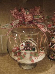 "Cool ""snow globe"" idea~"