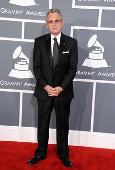Al Schmitt arrives at the 55th Annual GRAMMY Awards  Nice simple handsome