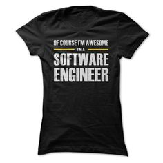 Software Engineers are awesome! Get one of the exclusive shirts and show off your pride. Checkout the full range of Software Engineers merchandises at http://SE.TeeMenu.com