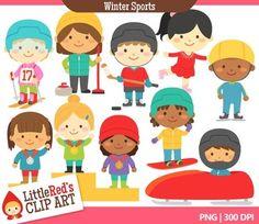 Clip Art - Winter Sports Clipart