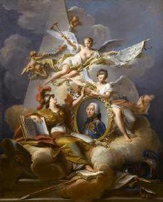 Jean Valade. Oeuvre: Charles-Louis-Fouquet, duc de belle Isle (1684-1761)