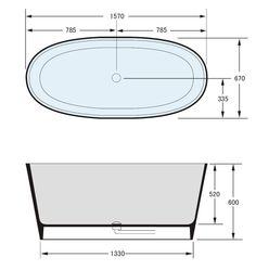 ABL Tile Centre - Lexy Cast Stone Freestanding Bath, $2,350.00 (http://www.abltilecentre.com.au/lexy-cast-stone-freestanding-bath/)