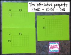Making Meaning: Using Array Cards to Teach Multiplication Facts