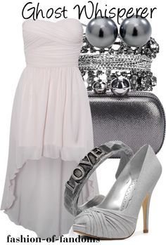"""""""Ghost Whisperer"""" by fofandoms ❤ liked on Polyvore"""
