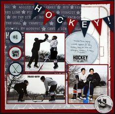 Hockey - Like the layout by josie