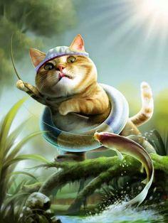 Gatto pescatore