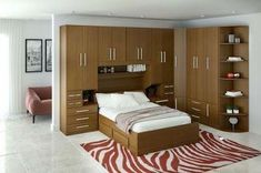 space saving furniture design ideas for small bedroom interior #ModernHomeDecorBedroom