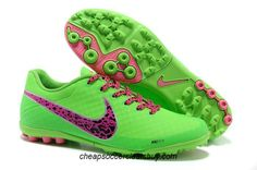 Nike Elastico Finale II Fives Soccer Soccer Cleats 2013 Fresh Mint Pink Flash Neo Lime