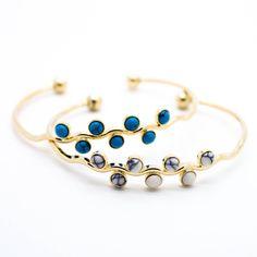 Bubbles bangle bracelet