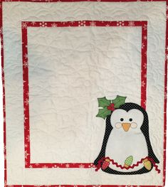 Holiday Penguin Quilt pattern at Stitches of Love