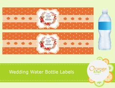 Eat Drink and Be Married Water Bottle Labels, Fall Wedding Water Bottle Labels, Fall Wedding Decorations, Autumn Wedding Decor, Waterproof Water Bottle Labels, Wedding Stickers, Monogram Initials, Planner Stickers, Drinks, Fall, How To Make, Autumn, Wedding Labels