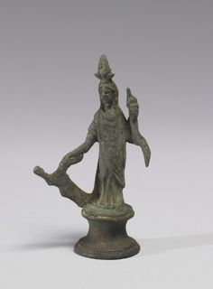 Isis-Fortuna, AD 1st century.  Italy, Boscoreale (Place of Discovery)
