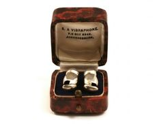 Silver Vibraphone Ear Tubes - Phisick   Medical Antiques
