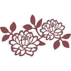 Silhouette Design Store - Search Designs : floral