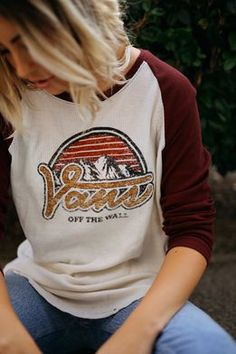 Warm up in the Lodge 77 Thermal Tee.