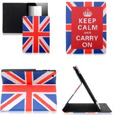 iPad Smart case - England Flag Keep calm and carry on for iPad 2 and iPad 3 $16.23  Want this so badly