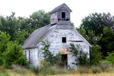 Abandoned School, Bourbon County, Kansas