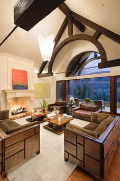 Tour Rihanna's Vacation Home in Aspen, CO | Celebrity Homes | HGTV