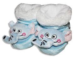 Plyšové papučky pre bábätká - SLON http://www.milinko-oblecenie.sk/pancusky-a-ponozky-pre-babatka/strana-3/