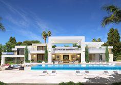 animacad Exterior 3D Marbella La Perla Blanca Vista 7