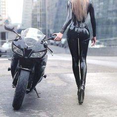 HD wallpaper Cooper Copii: Motorcycle and Girls Dirt Bike Girl, Lady Biker, Biker Girl, Motard Sexy, Mode Latex, Look Rockabilly, Cafe Racer Girl, Motorbike Girl, Sexy Latex