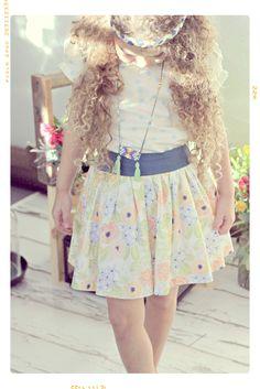 Little girls spring fashion,  kids fashion