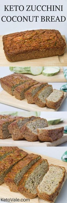 Have you ever tried making keto bread using zucchini and coconut flour? Today we are showing you our low carb Zucchini Coconut Bread recipe. Ketogenic Recipes, Low Carb Recipes, Diet Recipes, Cooking Recipes, Healthy Recipes, Coconut Flour Recipes Keto, Recipies, Cooking Games, Simple Recipes