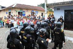 La policía contra el Pueblo en Guatemala