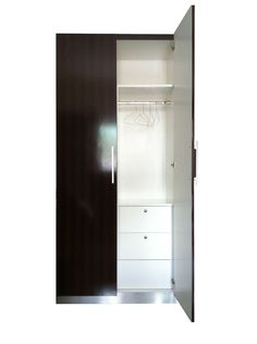 2 Doors Wooden Wardrobe
