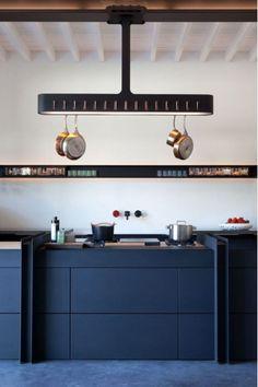Cocina Azul marino #kitchen