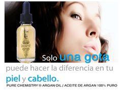 Cierto! Una sola gota de aceite de argán, Argán Oil, puede hacer la diferencia!!!!