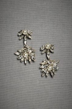 16f0c19723f Deco Posts Pearl And Diamond Earrings