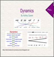 Students order dynamics by symbol in order, as well as over a crescendo and decrescendo. Can also be printed as paper and pencil assessment.