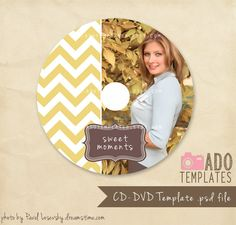 way cute cd label template
