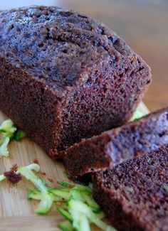 JESSIE'S CHOCOLATE CHIP ZUCCHINI BREAD