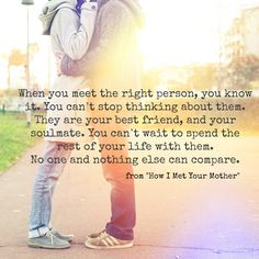 Quotes love soulmate best friends met Ideas for 2019 Best Friend Soul Mate, Soul Mate Love, Soul Mates, Relationship Quotes, Life Quotes, Great Quotes, Inspirational Quotes, Super Quotes, How I Met Your Mother