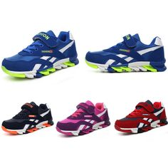 1198350998a 2016 Fashion Kids Girls Sneakers Breathable Leather Boys Sport Shoes Wear  Non-Slip Children Outdoor