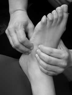 A well done foot massage makes my day!