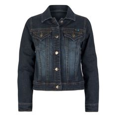 TRACTOR Girls Denim Jacket ($9.97) ❤ liked on Polyvore featuring jackets, coats, coats & jackets, jackets & vests, jakets and kids