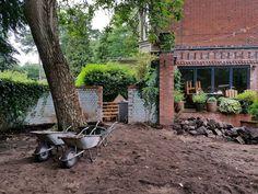Site Clearance #landscaping #groundworks #gardendesign #reclaimedstone #englishgarden #gardendesigncheshire