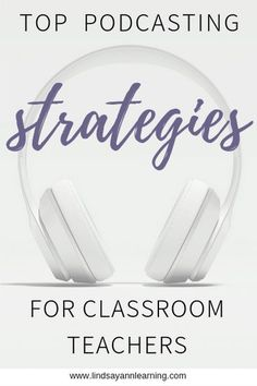 Teaching podcasting in the English classroom just got easier! I'm sharing 20 of my favorite podcasts and best teaching tips to help you get started. Instructional Strategies, Teaching Strategies, Teaching Tips, Teaching Reading, Middle School Reading, Middle School English, Project Based Learning, Student Learning, English Classroom