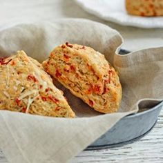 Sun-Dried Tomato, Thyme & Asiago Scones - EatingWell.com