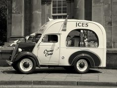 Ice cream sales .. old school.